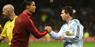 Ronaldo y Messi se robaron todas las miradas. Foto:AFP