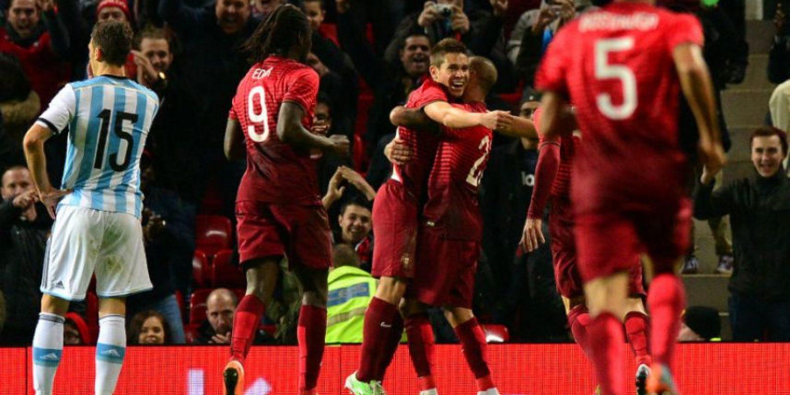 Guerreiro anotó el gol de la victoria para Portugal. Foto:AFP