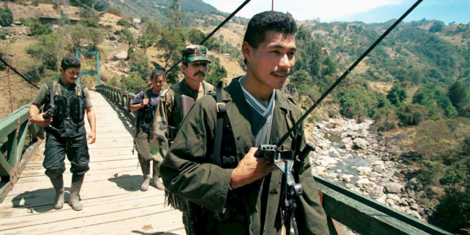 La FARC uno de los grupos guerrilleros más temidos. Foto:Getty