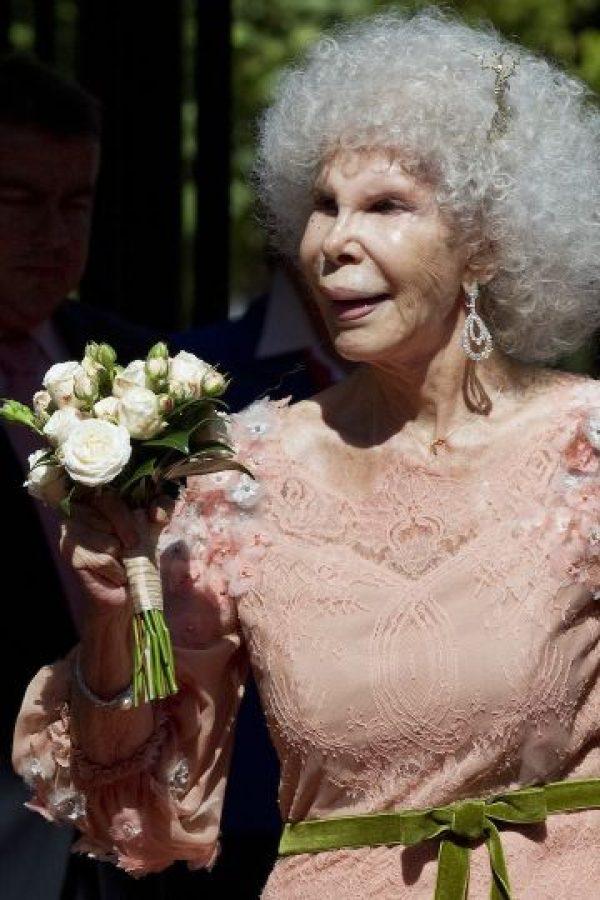 Fue hospitalizada el domingo. Foto:Getty