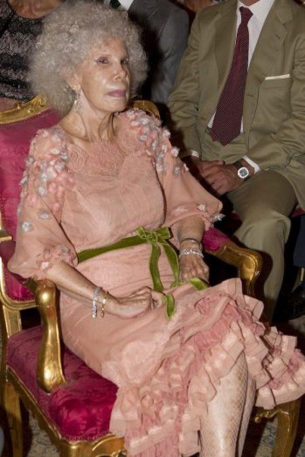 La boda se llevó a cabo en el Palacio de las Dueñas de Sevilla. Foto:Getty
