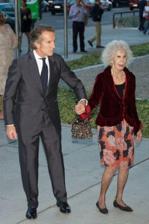 La duquesa contrajo matrimonio por tercera vez en su vida a los 85 años. Foto:Getty