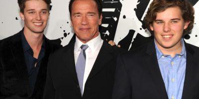 Arnold Schwarzenegger: 5 hijos. Foto:Getty Images