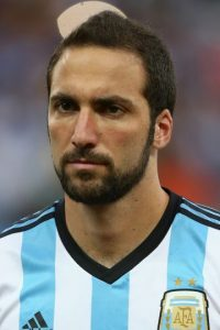 Gonzalo Higuaín (Argentina) Foto: Getty Images