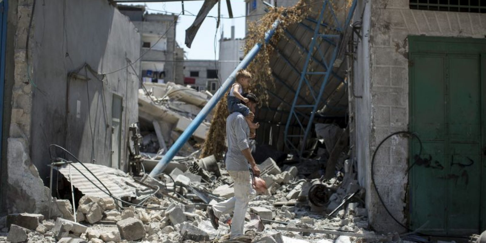Franja de Gaza Foto:Getty Images