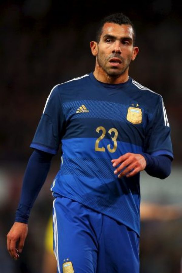 Carlos Tévez (Argentina) Foto: Getty Images