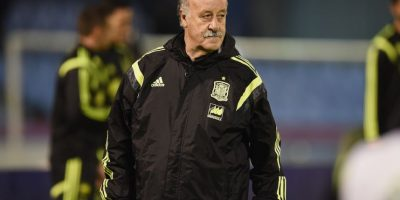 Vicente del Bosque, director técnico de España. Foto: Getty Images