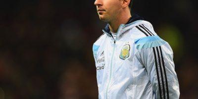 Messi con rostro serio. Foto:Getty Images