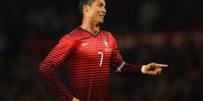 El lado irónico de Cristiano Ronaldo. Foto:Getty Images