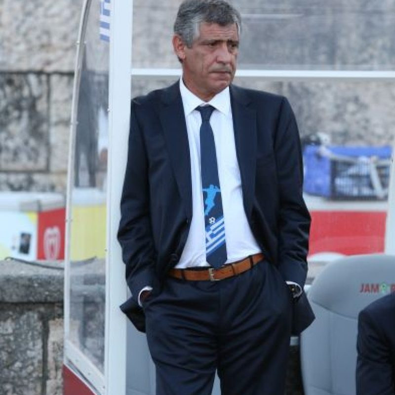 Fernando Santos, director técnico de Portugal. Foto: Getty Images