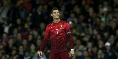 Así lució Ronaldo al final del partido. Foto:AFP