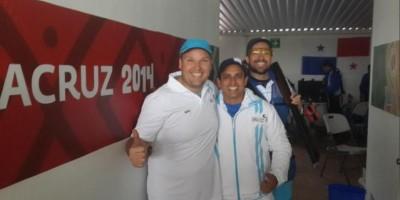 El equipo de doble foso olímpico se cuelga el oro en Veracruz