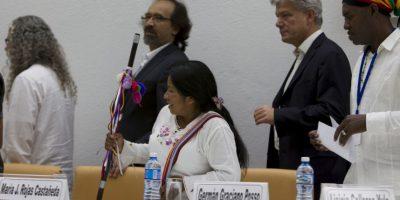 Un duro revés para el proceso de paz. Foto:AP