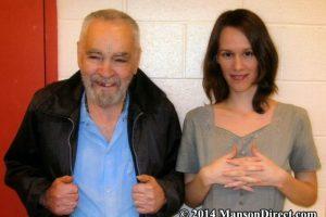 Manson y su futura esposa se han conocido por años Foto:MansonDirect.com