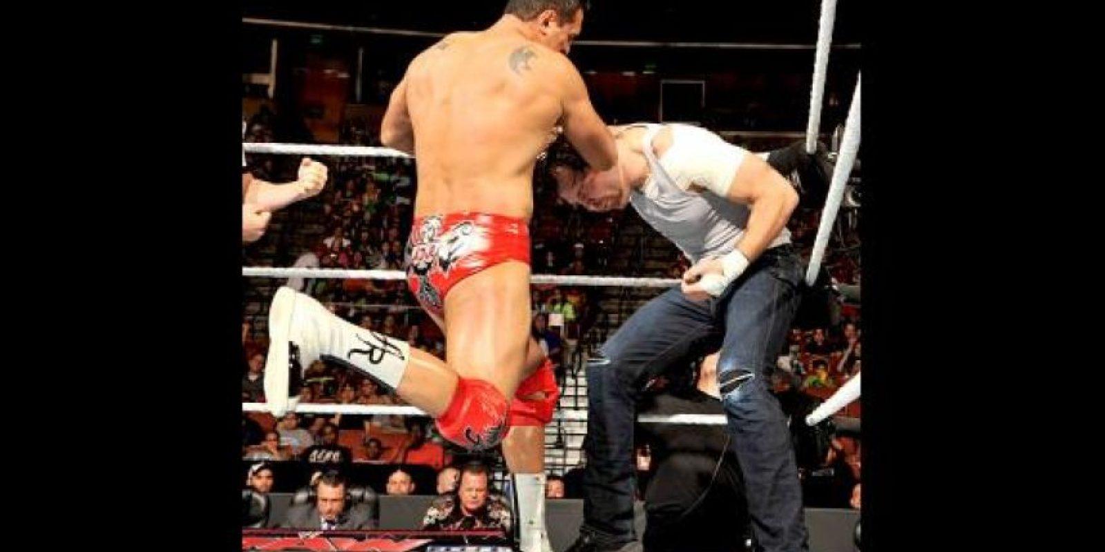 Tuvo un problema de racismo con un empleado de la WWE Foto:WWE