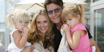 Charlie Sheen: 5 hijos Foto:Getty Images