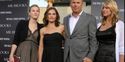 Kevin Costner: 7 hijos Foto:Getty Images