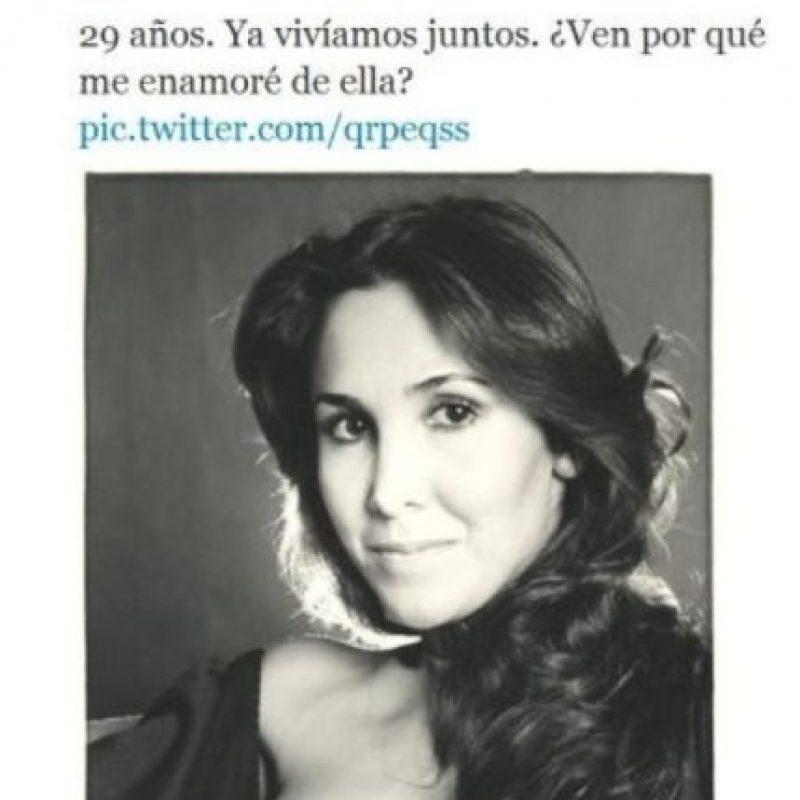 A los 27 años Foto:Twitter/Chespirito