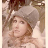 Florinda Meza a los 22 años. Era rubia por motivos de trabajo. Foto:Twitter/Chespirito