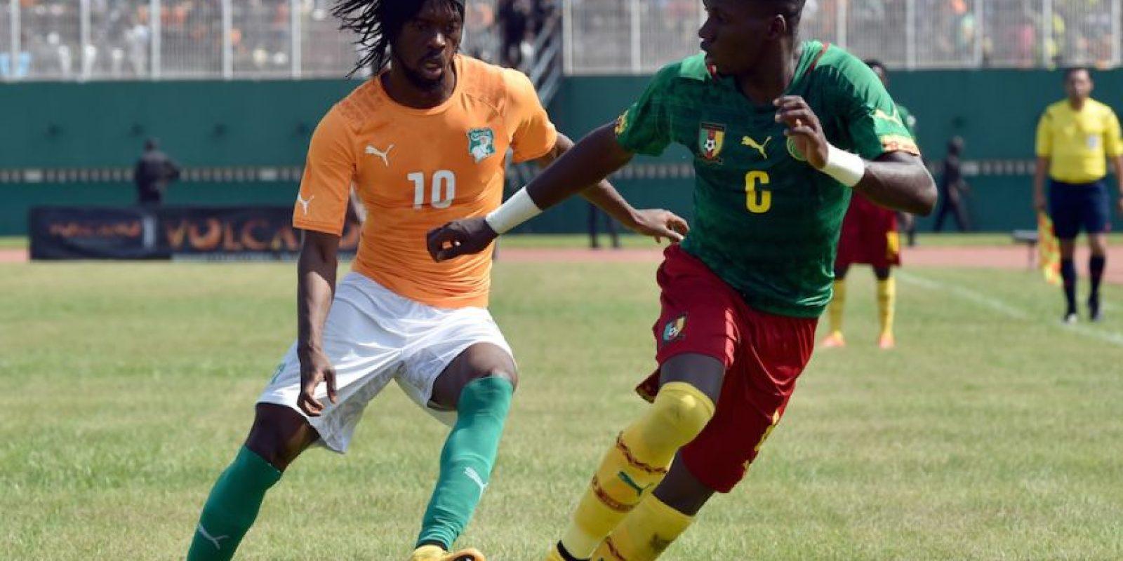 Costa de Marfil y Camerún buscaban su pase a la Copa Africana de Naciones. Foto:AFP
