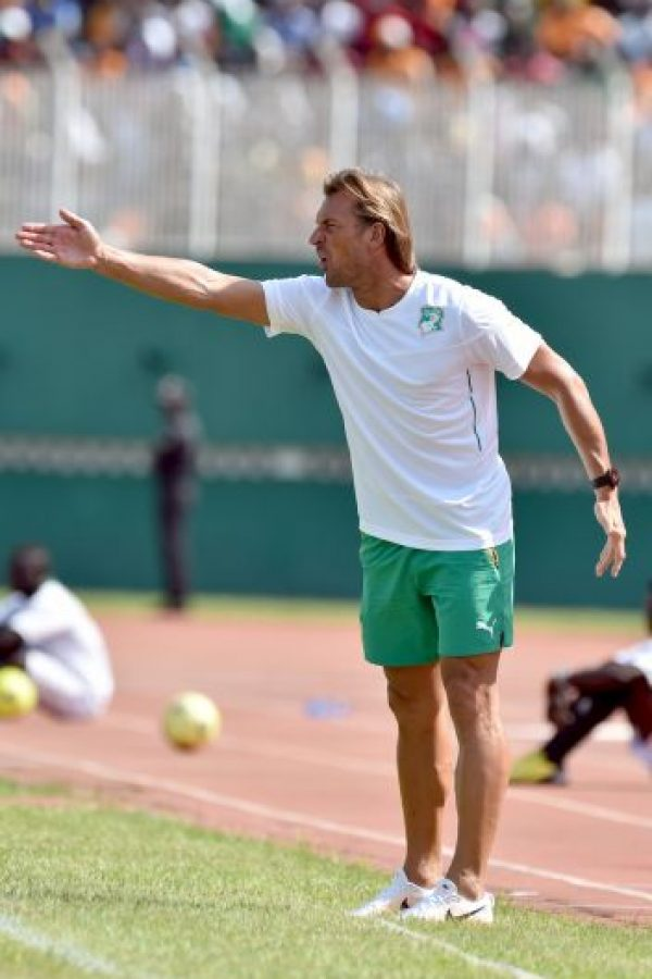 El francés Herve Renard, entrenador de Costa de Marfil. Foto:AFP