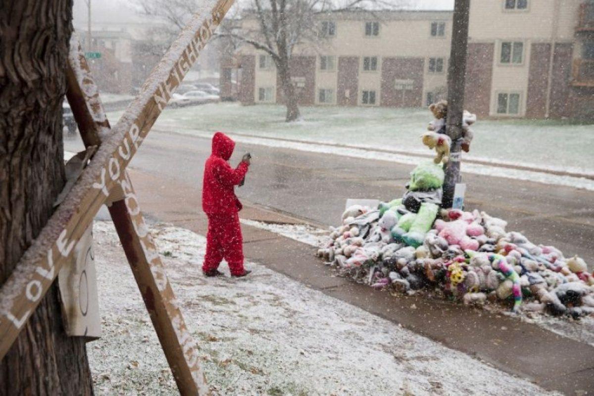 Ferguson, en Misuri. Sitio donde fue asesinado el joven Michael Brown, también sufrió este fenómeno Foto:AFP