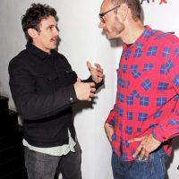 Junto al actor James Franco Foto:Getty Images