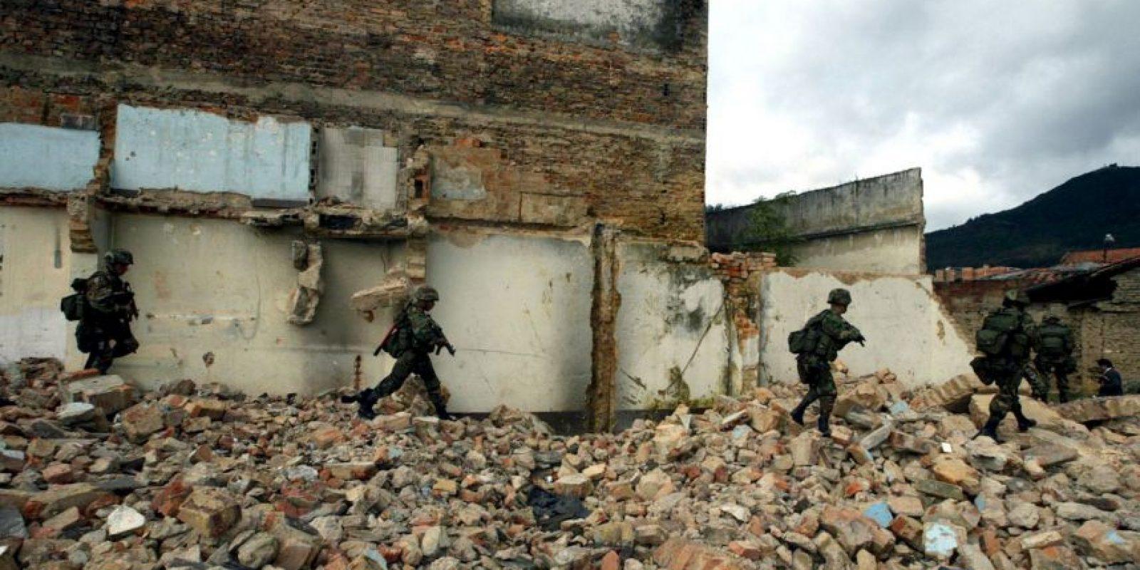 El Gobierno ha luchado por años contra la guerrilla. Foto:Getty Images