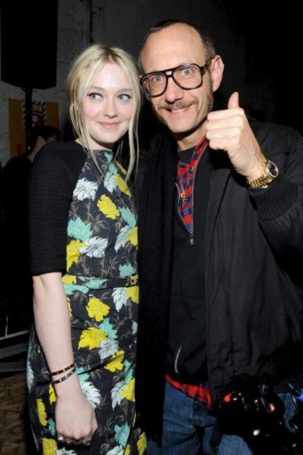 Con Dakota Fanning Foto:Getty Images
