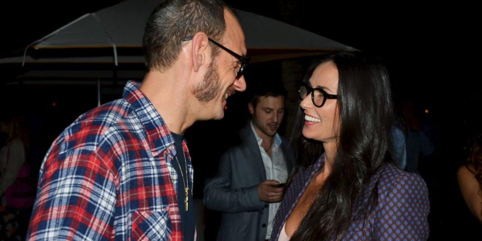 Conversando con Demi Moore Foto:Getty Images