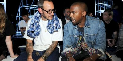 Junto a Kanye West Foto:Getty Images