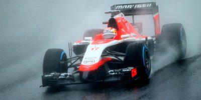 Bianchi en su monoplaza antes de accidentarse. Foto:Getty Images