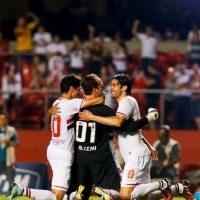 El brasileño del Sao Paulo es el arquero que ha marcado más goles en toda la historia, con 123 dianas Foto:Getty