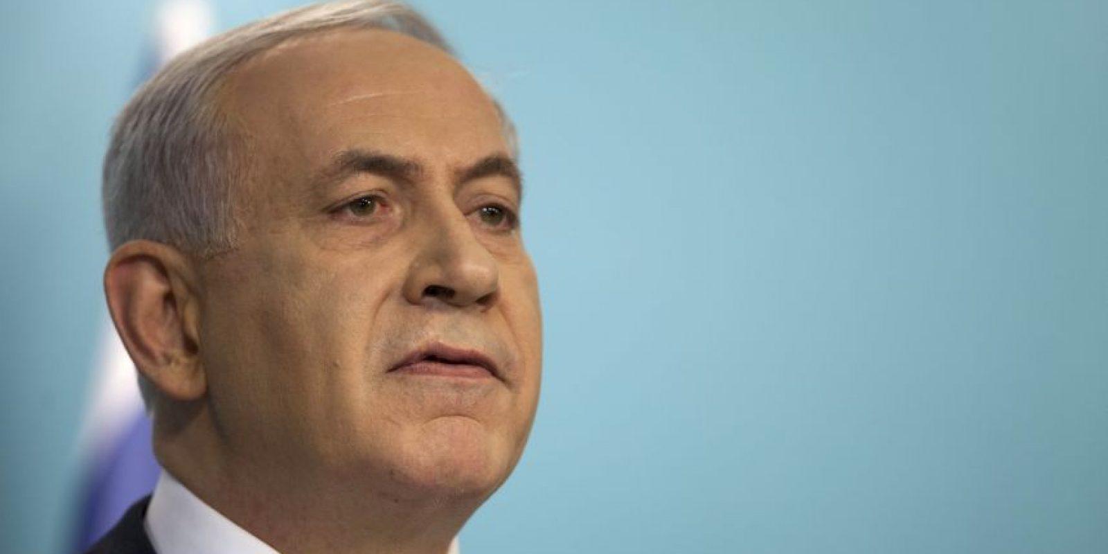 El Primer Ministro de Israel, Benjamin Netanyahu. Foto:Getty Images