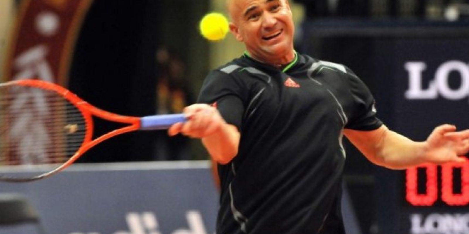 Andre Agassi. Foto:AFP