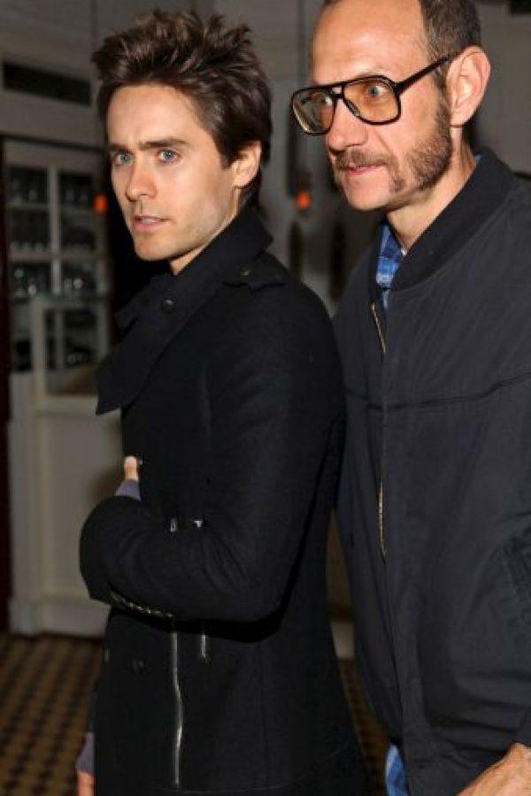 Con el actor y músico Jared Leto Foto:Getty Images