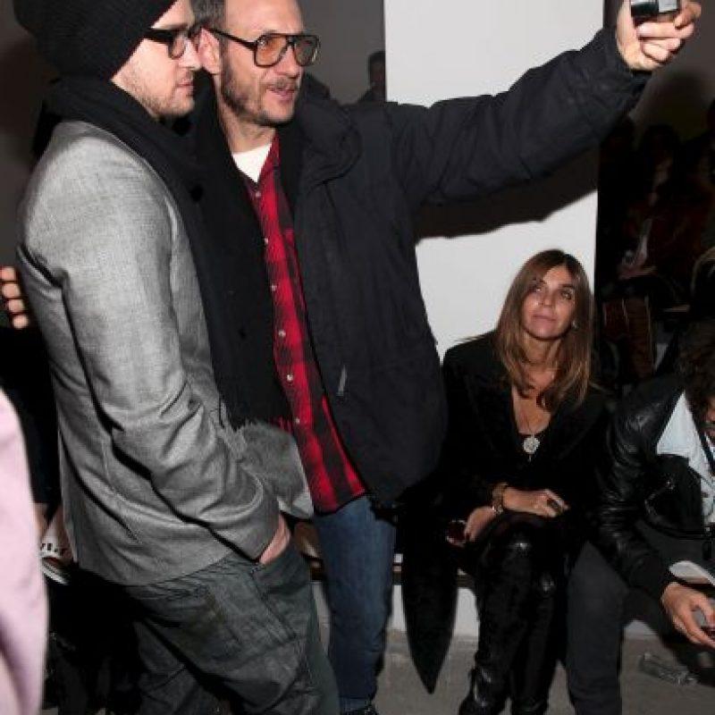 Junto al cantante Justin Timberlake Foto:Getty Images