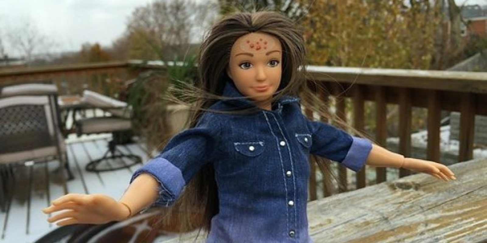 Nikolay Lamm fue la persona que se hizo célebre este año por crear la Barbie con medidas reales. Foto:Lammily