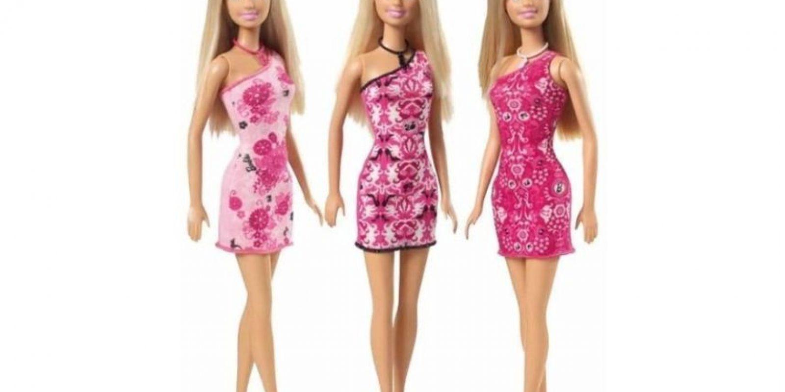 Este es el modelo de Mattel Foto:Lammily
