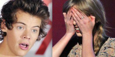 """En 2012, cuando la cantante comenzó su relación con Harry Styles, las redes sociales de Taylor se llenaron de amenazas como esta: """"Eres una pu** zor**. Quiero matarte a puñaladas y jugar con tu sangre"""". Foto:Getty Images"""