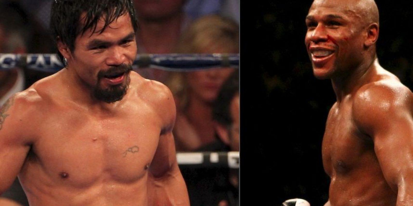 Pacquiao vs. Mayweather se efectuaría en 2015. Foto:Getty Images