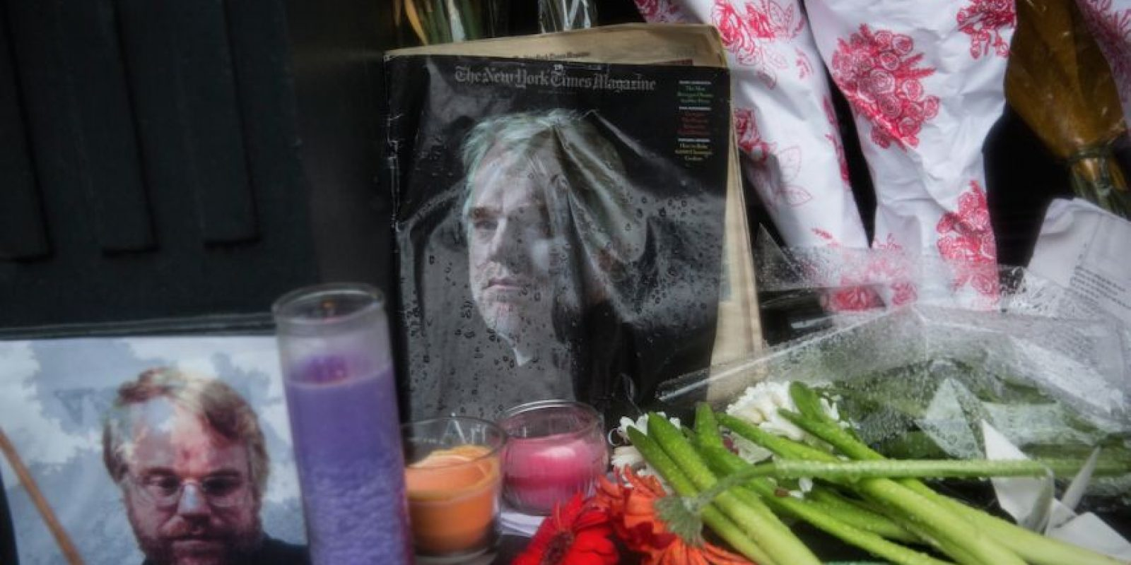 Altar dedicado al actor Foto: Getty Images