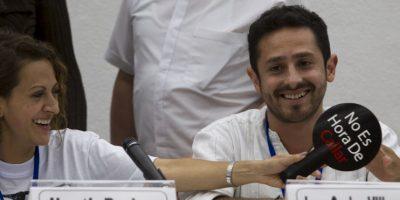 En Cuba aún permanecen algunos de los negociadores. Foto:AP