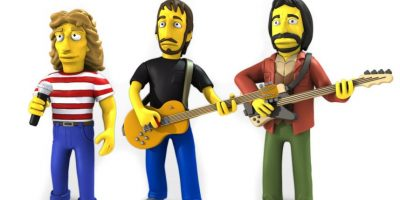 La banda The Who también tiene sus figuras Foto:NECA