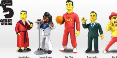 om Hanks, James Brown, Yao Ming, Hugh Hefner y Kid Rock Foto:NECA