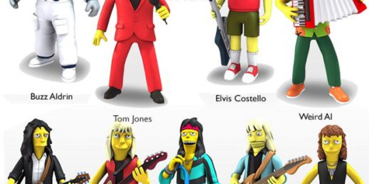 """Los mejores invitados a """"The Simpsons"""" tienen sus figuras de colección"""