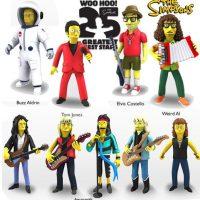 """Weird"" Al Yankovic, Aerosmith, Buzz Aldrin y Elvis Costello Foto:NECA"