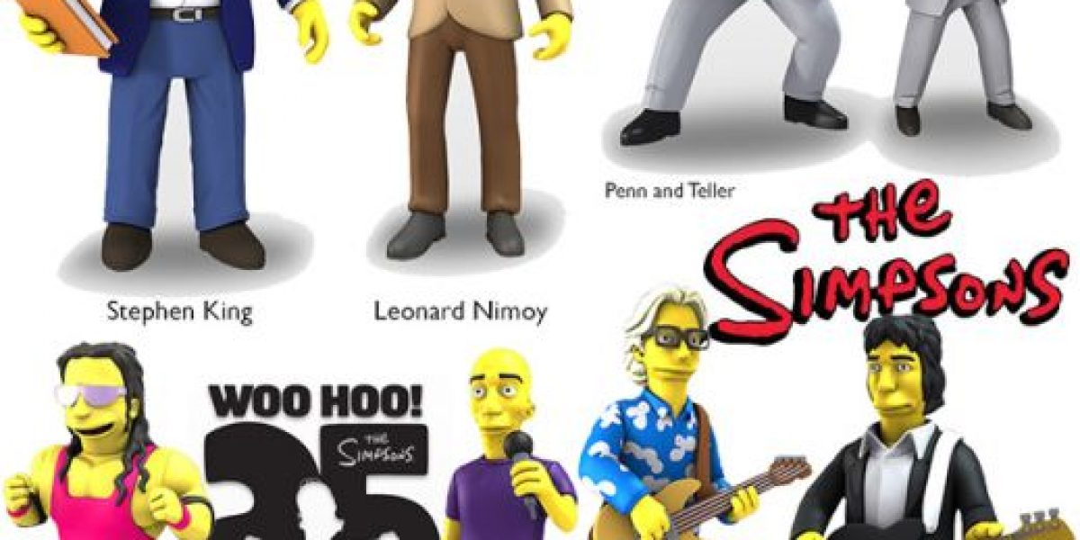 """Fotos: Los mejores invitados a """"The Simpsons"""" tienen sus figuras de colección"""