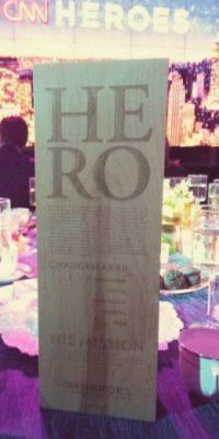 El reconocimiento como uno de los diez nominados en CNN Heroes Foto:Juan Pablo Romero