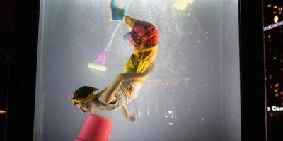Fotos: Tareas mundanas ¿bajo el agua?